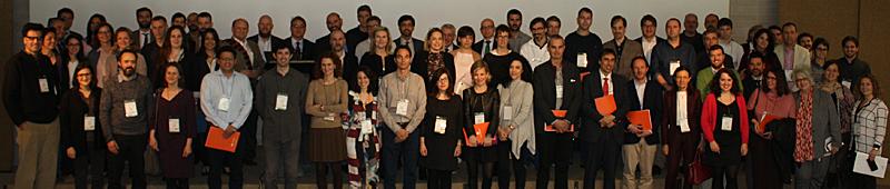 Profesionales participantes en el VII Workshop EECN celebrado en el COAM el 8 de marzo 2017.