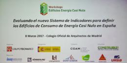 Evaluando el nuevo Sistema de Indicadores para definir los Edificios de Consumo de Energía Casi Nulo en España