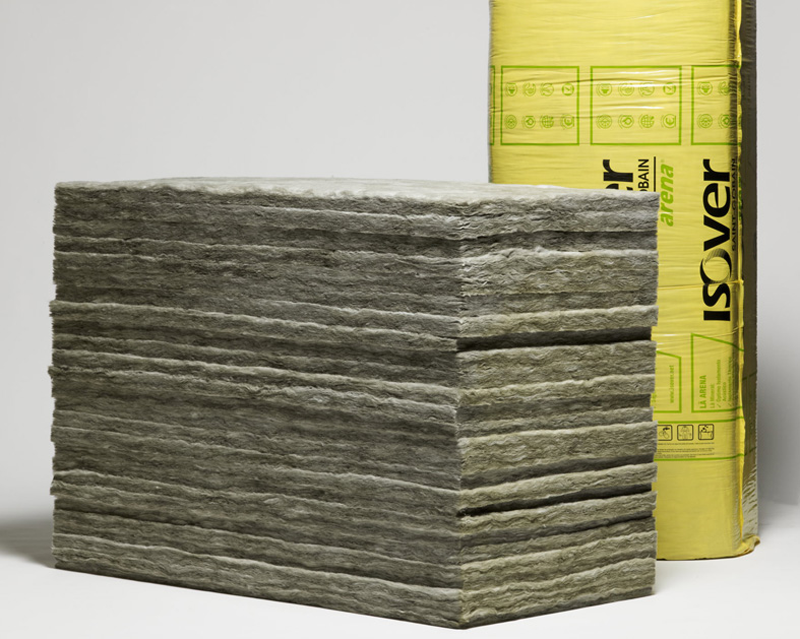 Productos de lana mineral arena de ISOVER.
