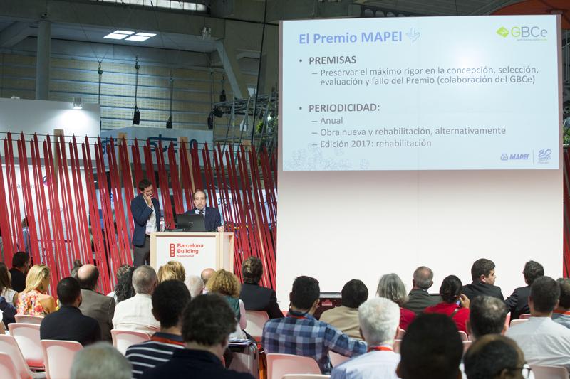 Abierto el periodo de inscripción para laprimera edición del Premio Mapei a la Edificación Sostenible.
