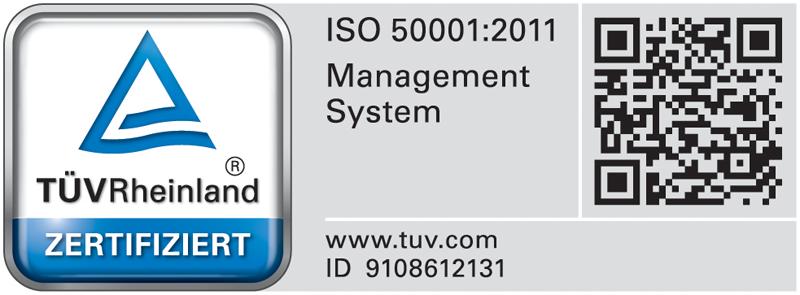 MMERLING ha logrado la Certificación del Sistema de Gestión Energética ISO 50001.