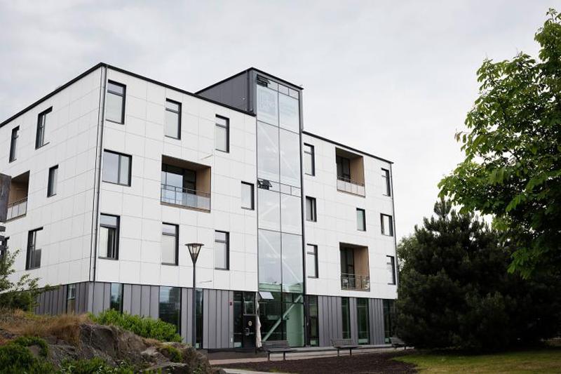 Bloque residencial HSB Living Lab en Suecia.