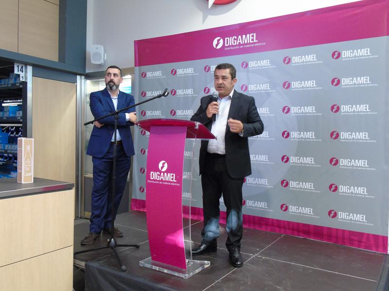 Más de 300 personas asistieron a la inauguración de las nuevas instalaciones de Digamel.