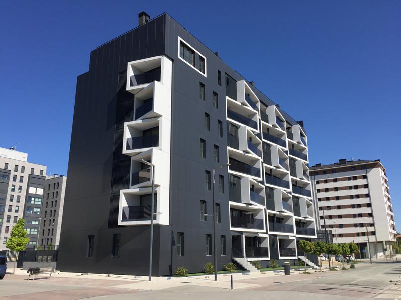 El edificio Thermos es el primer bloque de viviendasPassivhaus en España.