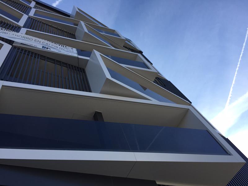 Las viviendas tienen amplias terrazas de casi 20 m2.