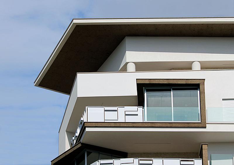 El residencial está compuesto de tres edificios.