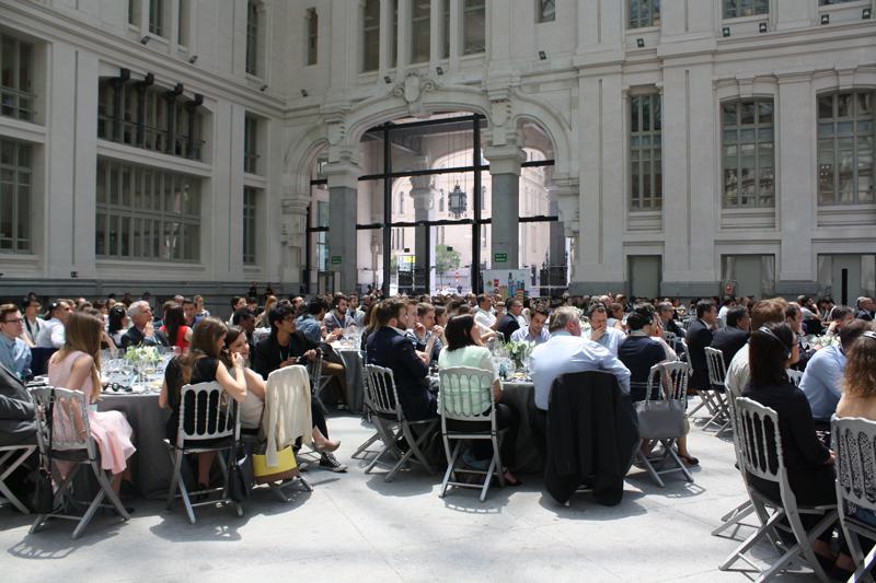 El evento celebrado en la Galería de Cristal-Palacio de Cibeles.