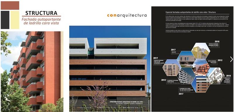 """El 27 de junio tendrá lugar laJornada Técnica""""Nueva arquitectura cerámica. Fachadas LCV-Structura. Edificios de máxima eficiencia energética y estabilidad estructural""""."""