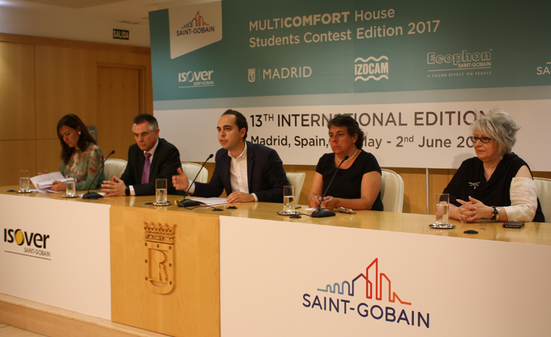 Esther Soriano,Javier Fernández Campal,José Manuel Calvo,Marta Gómez yPilar Pereda.