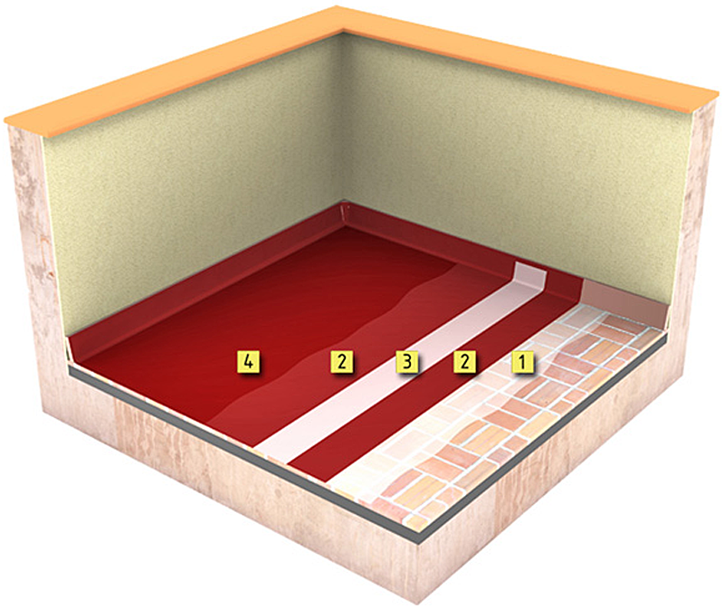 El nuevo sistema de Weber se puede usar para todo tipo de soportes, ya sea cerámica,metal, hormigón omortero.