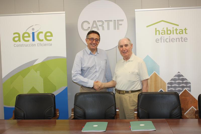 AcuerdoAEICE yCARTIF para impulsar proyectos innovadores para poner en valor la<strong> industria regional del hábitat</strong> y equipamiento de edificaciones.
