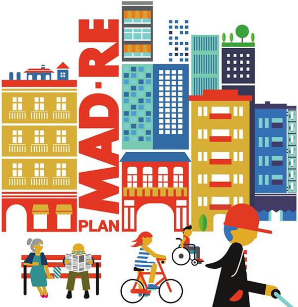 El Ayuntamiento de Madrid duplica la inversión para el Plan MAD-RE en 2017 y destina 49,7 millones.