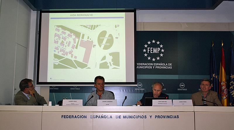Albert Grau, Javier Carmona, José Sánchez y Jesús Araiz.