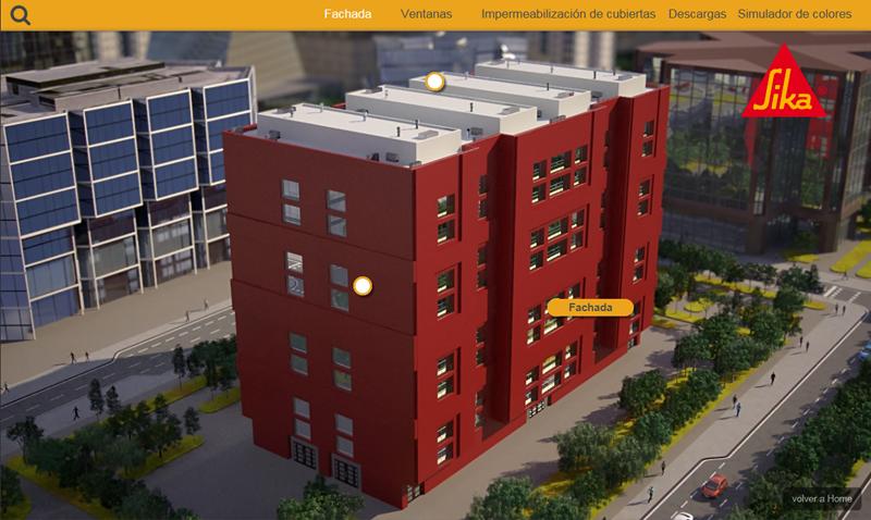 La ciudad de Sika combina tecnología como el vídeo interactivo y el 3D.