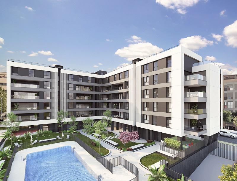 Promoción de viviendas de Vía Célere en Leganés.