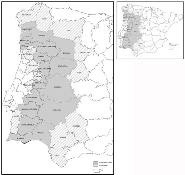 Programa Europeo Operativo de Cooperación Transfronteriza España–Portugal 2007-2013 – POCTEP.