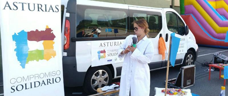La'Caravana Solidaria' recorrerá más de 20 concejos asturianosdesarrollando acciones de sensibilización sobre los 17 ODS de la ONU.