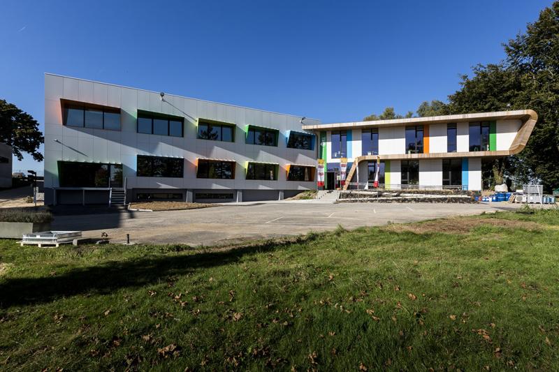 Smart Building con avanzadas tecnologías de control y monitoreo.