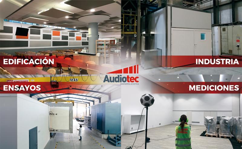 Audiotec es especialista en soluciones acústicas integrales.