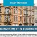 Es necesario atraer financiación privada para la Rehabilitación de Edificios, según BPIE
