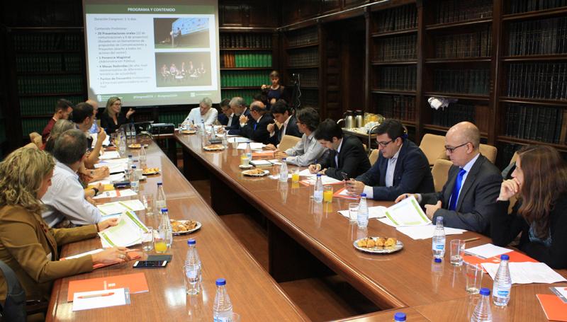 Comité Técnico del IV Congreso Edificios Energía Casi Nula durante la reunión en Ministerio de Fomento