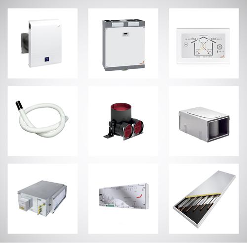 Zehnder ha incorporado la nueva etiqueta de Eficiencia Energética en las unidades de ventilación de su catálogo.
