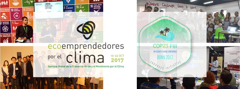 El 19 de octubre se celebrará el evento#ECOCLIM17 en Badajoz.