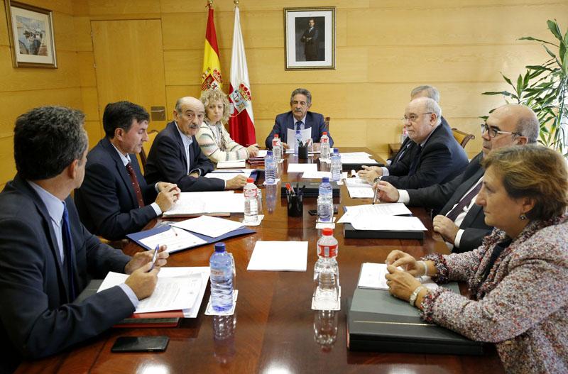 Imagen de archivo del Consejo de Gobierno de Cantabria (Foto: Gabinete de Prensa).