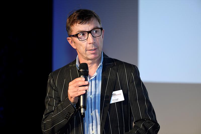 Harry Gugger, profesor de arquitectura en la EPFL de Lausana (Suiza).
