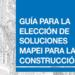 Nueva Guía de Mapei para la elección de soluciones para la Construcción
