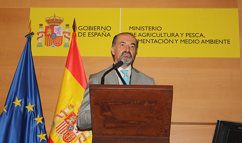 Director general de Oficemen, Aniceto Zaragoza.