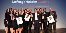 Celebrada la 5ª Edición de los International LafargeHolcim Awards 2017 Europa