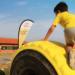 Pavimentos de neumáticos reciclados y columpios productores de electricidad en un colegio de Aranjuez