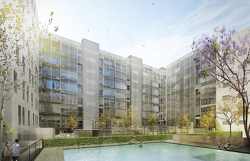 Promoción residencial Innova promovida por Solvia.
