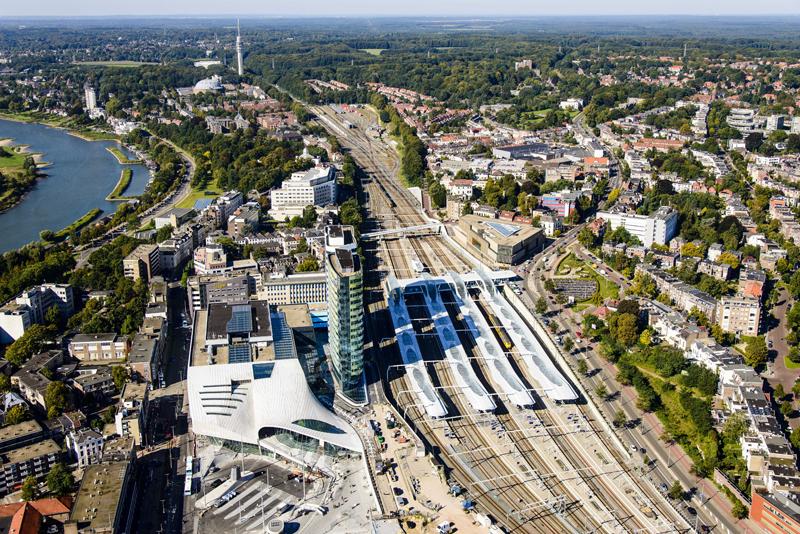 """Ganador de la categoría Developments & Initiatives: UNStudio con """"Arnhem Central Station""""."""