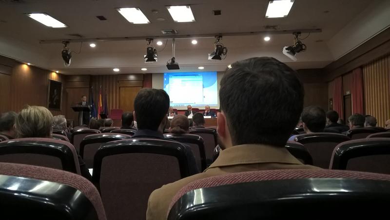 """Celebración del14º Foro PTEC """"La Innovación en las infraestructuras del transporte""""."""
