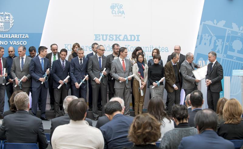 El Lehendakari Iñigo Urkullu ha recogido el diploma de adhesión del Ejecutivo vasco a la citada iniciativa.