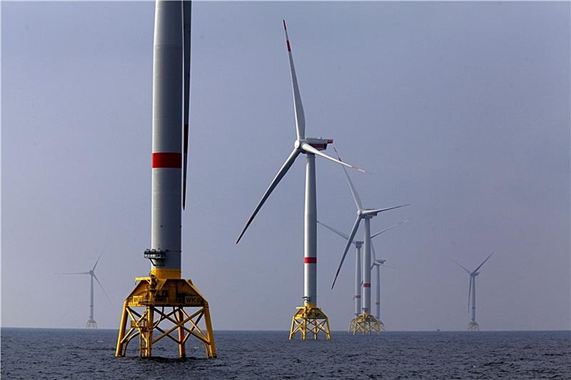 Parque eólico marino Wikinger, de Iberdrola.