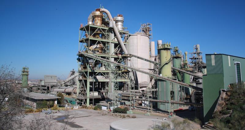 Fábrica de LafargeHolcim en Villaluenga de la Sagra (Toledo).