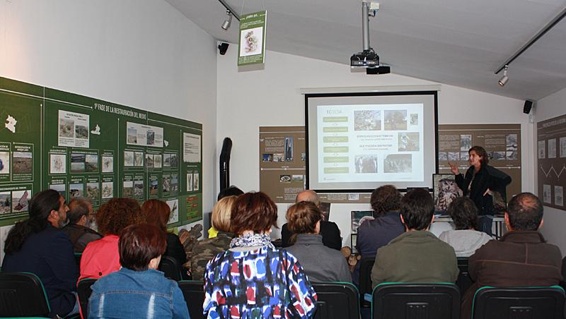 Centro de Interpretación de la Naturaleza Mesa de Ocaña (Toledo).