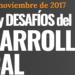 Retos y Desafíos de Desarrollo Local a debate los próximos 16 y 17 de noviembre en Madrid