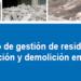 NuevoProtocolo de Gestión de Residuos de Construcción y Demolición