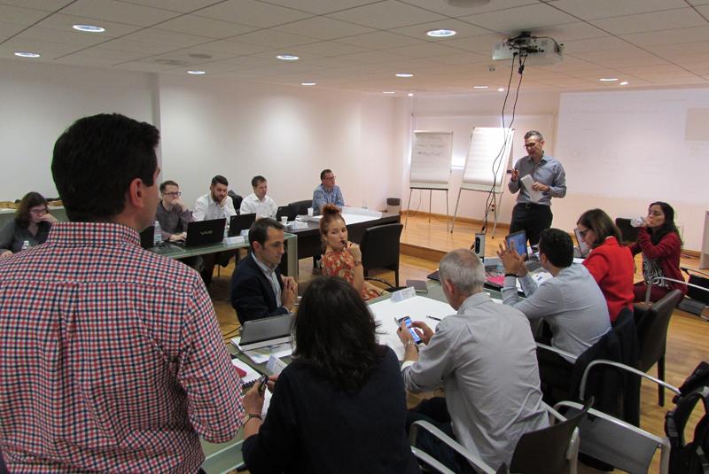 La reunión del lanzamiento del proyecto eTEACHER, en el que participan Agenex y Cemosa como representantes españoles, se celebró en Málaga a mediados de octubre.