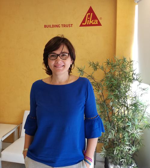 Ana Carmona, Responsable de Sostenibilidad de Sika para España y Europa Sur.