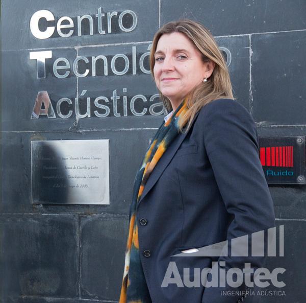 Ana Espinel, Directora General de Audiotec.