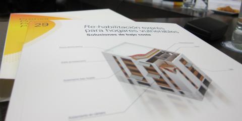 """Presentación del estudio """"Re-habilitación exprés para hogares vulnerables"""""""