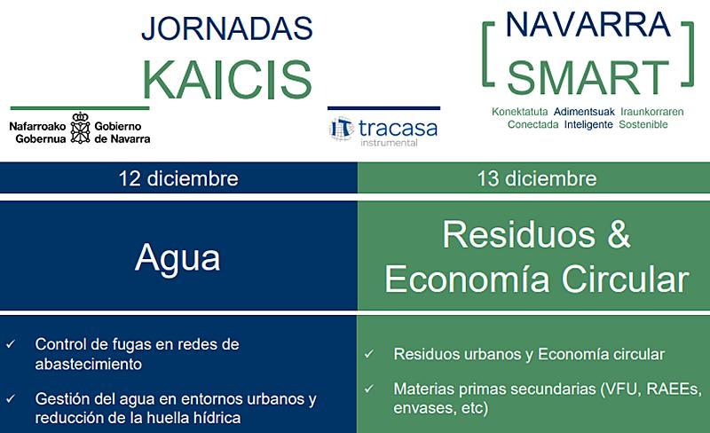 Organizadas por el Gobierno de Navarra, tendrá lugar los días 12 y 13 de diciembre en la sede de la empresa pública Tracasa en Sarriguren.