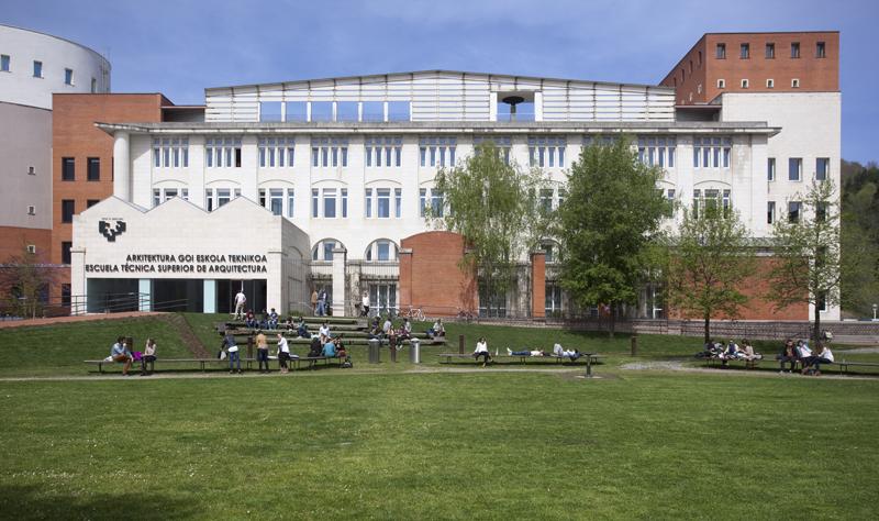Escuela Superior de Arquitectura de San Sebastián de la UPV/EHU.