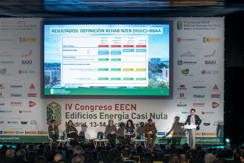 Gil Lladó, Área Metropolitana de Barcelona, en el IV Congreso Edificios Energía Casi Nula 2017.