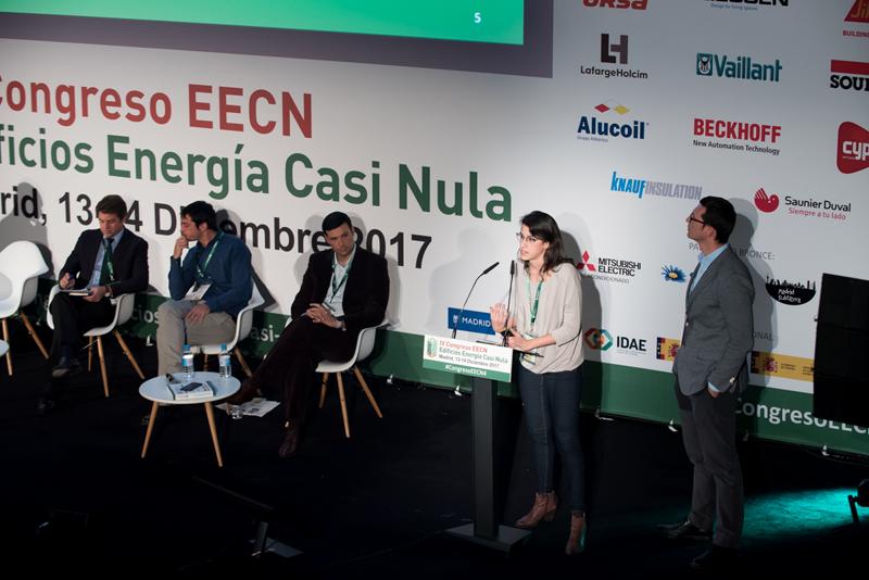 David Moreno y Elena Vilches. Bloque de ponencias 2. IV Congreso Edificios Energía Casi Nula.